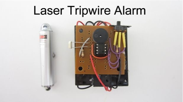 Picture of Laser Tripwire Alarm