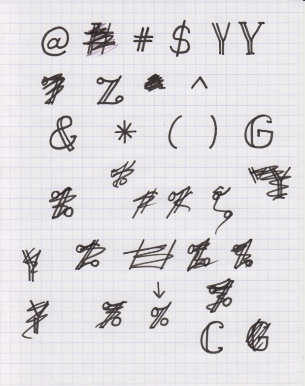 Keep in mind your ascender, x-height, and descender - How to create your own font using Illustrator and Glyphs app - HelloBrio.com